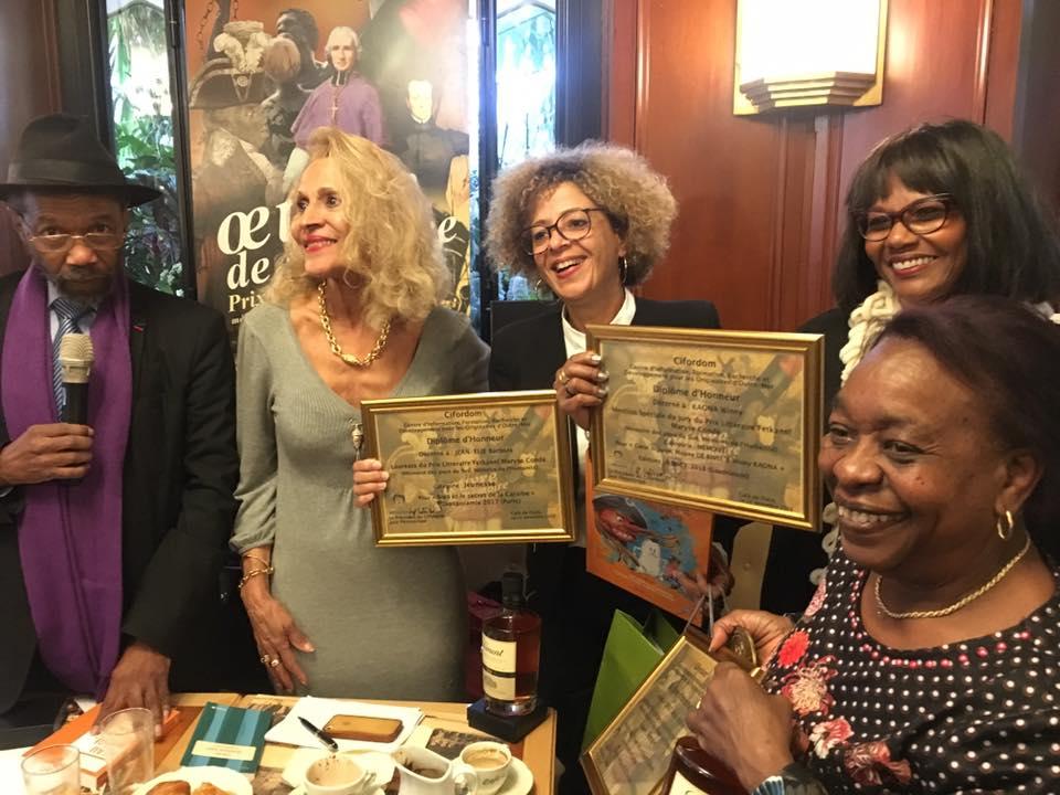 Sina et le secret de la Caraïbe, Prix FETKANN! MARYSE CONDÉ JEUNESSE 2018