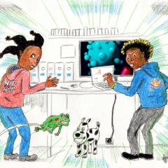 Sina et le Coronavirus – le voyage
